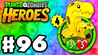 Plants vs. Zombies: Heroes - Gameplay Walkthrough Part 96 - Bananasaurus Rex! (iOS, Android)