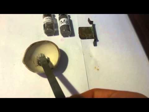 Silver Nitrate Explosion