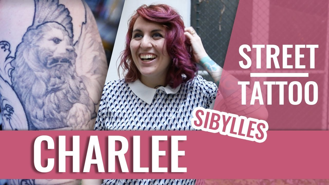 STREET TATTOOS — CHARLEE, FONDATRICE DE SIBYLLES