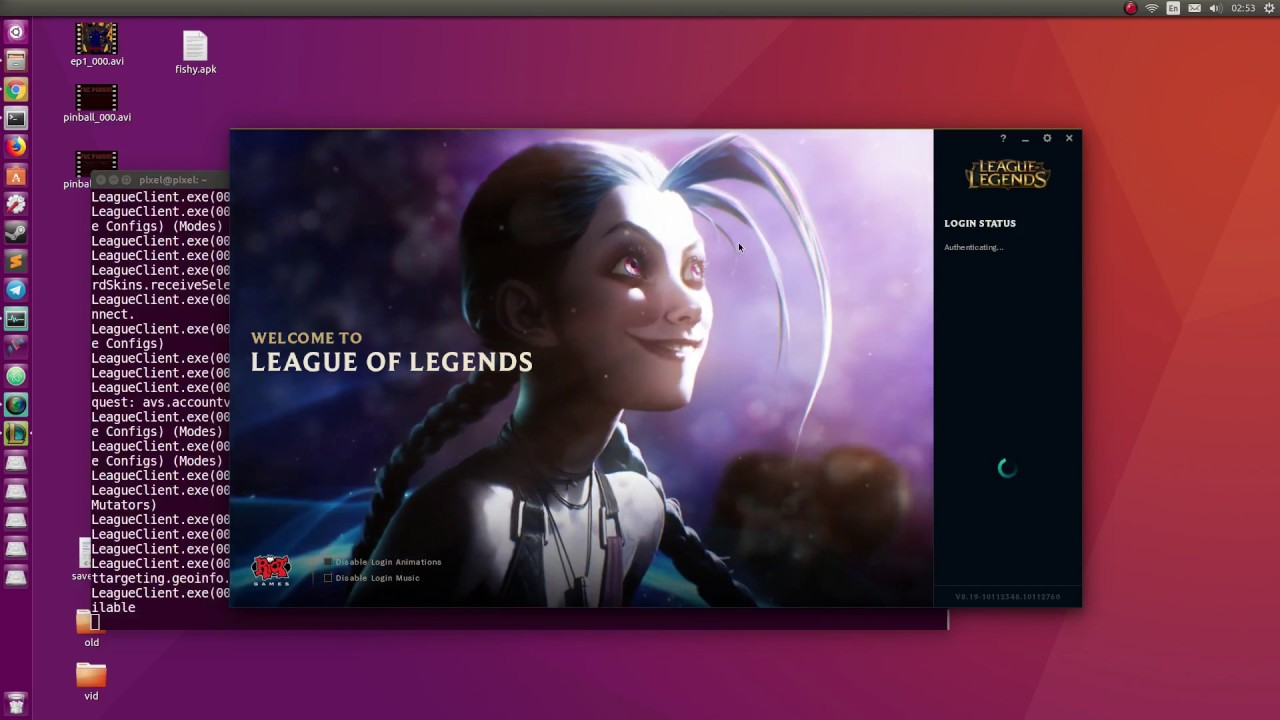 League Of Legends Snap On Ubuntu Linux Youtube