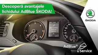 Avantajele lichidului AdBlue® original ŠKODA