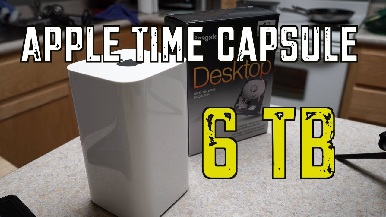 airport time capsule 6tb upgrade passo a passo e considera es youtube. Black Bedroom Furniture Sets. Home Design Ideas