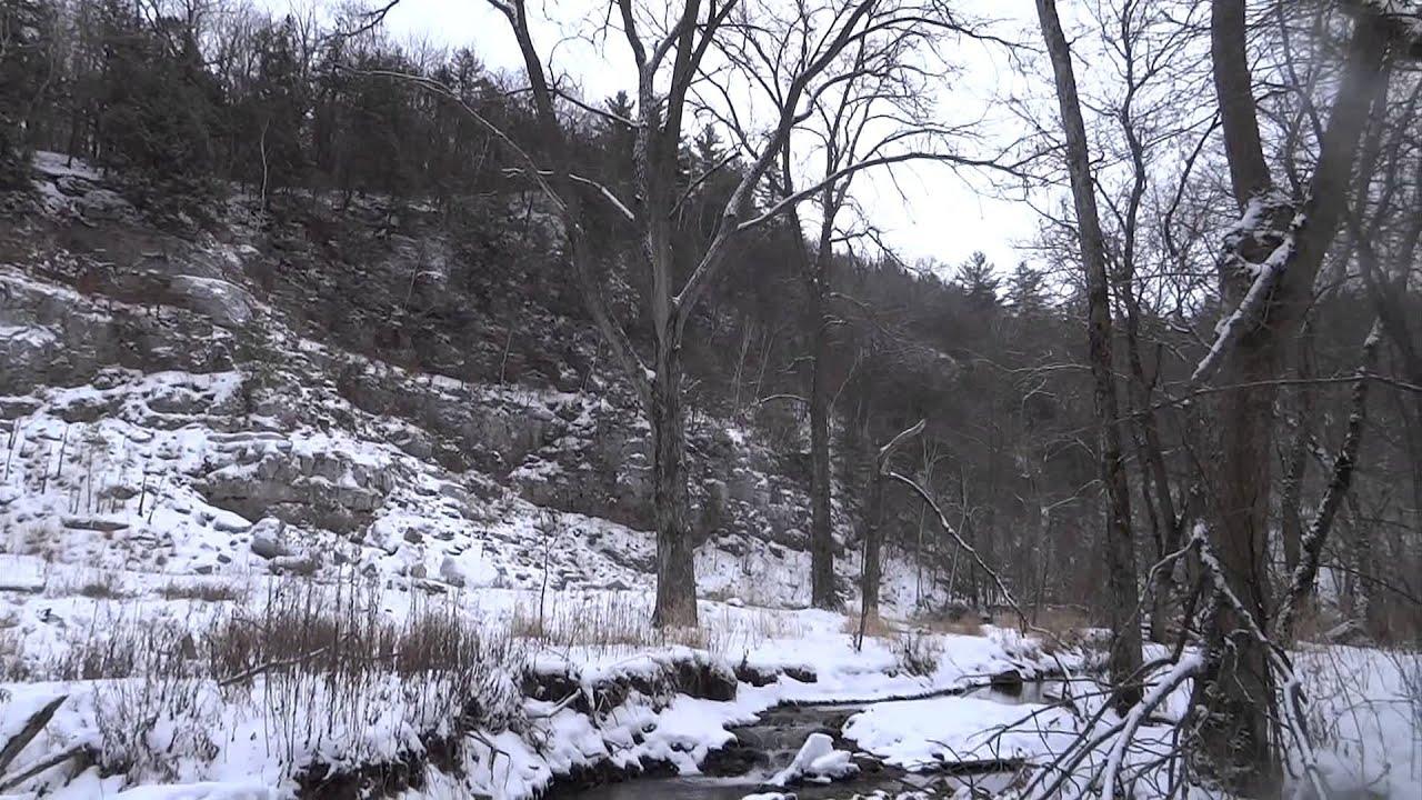 Whitewater river winter season trout fishing youtube for Trout fishing mn season