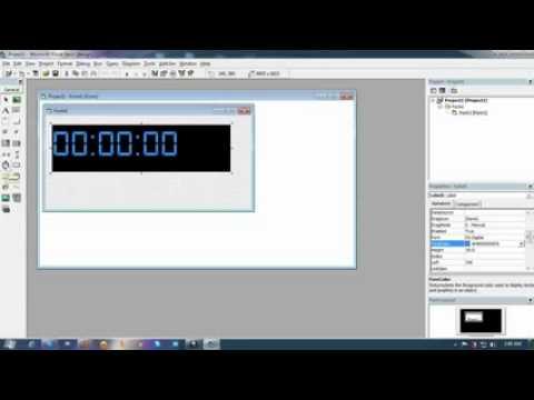 Cara Membuat Jam Digital Dengan Visual Basic 6.0