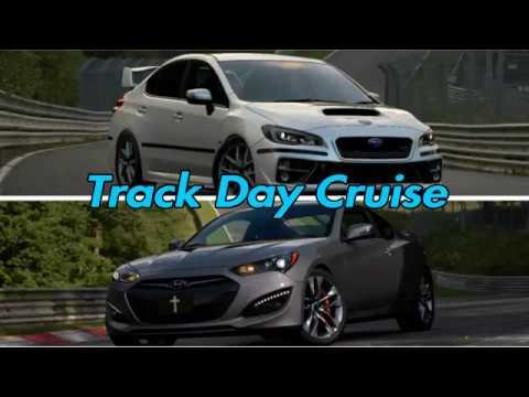 Gran Turismo Sport (#2) Online Track Day Cruise public lobby with friends Subaru/Hyundai (Stock)