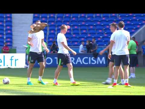 Republic of Ireland training at Lyon - 25.06
