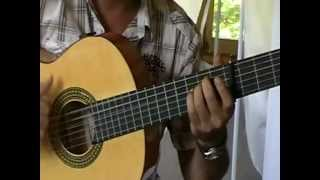 the gypsy guitar chord---accord gipsy un ramito de violetas