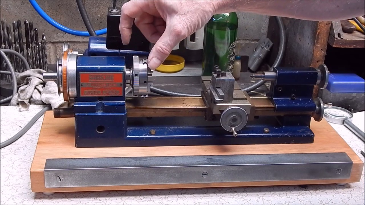 I Get Fired Up Over My Sherline Metal Lathe Youtube