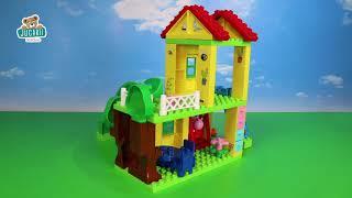 Joc de construit Peppa Pig pe terenul de joacă Pla
