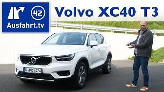 2019 Volvo XC40 T3 Momentum - Kaufberatung, Test deutsch, Review, Fahrbericht Ausfahrt.tv