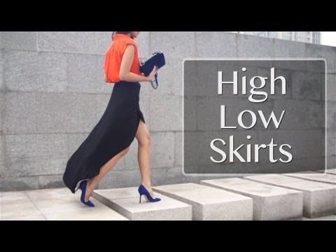 High Low Skirt Pairings