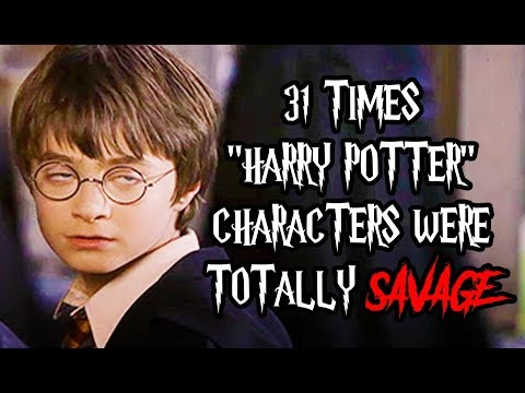 31 Times 'Harry Potter' Characters Were Totally Savage