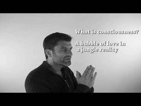 Jerry Sargeant: What is consciousness? A bubble of love in a jungle reality...