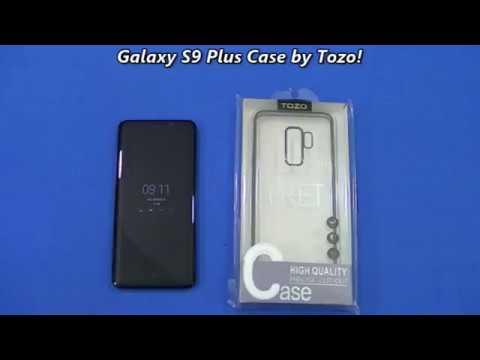 pretty nice e01d3 3e102 TOZO Thin case for Samsung Galaxy S9 Plus!