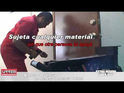 Prensa Banco de trabajo Portatil Urrea URREA México thumbnail