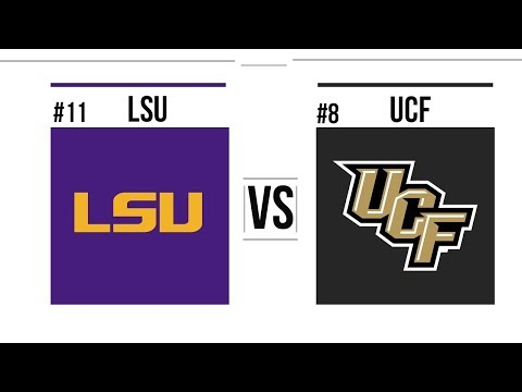 2019 Fiesta Bowl #11 LSU vs #8 UCF Full Game Highlights