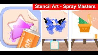 Stencil Art - Spray Masters   -  Gameplay