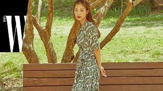 질 스튜어트 서머 컬렉션과 기은세 by W Korea