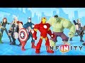 AVENGERS HULK Cartoon Game Videos for Kids - Video Games for Children - Disney Infinity 2.0