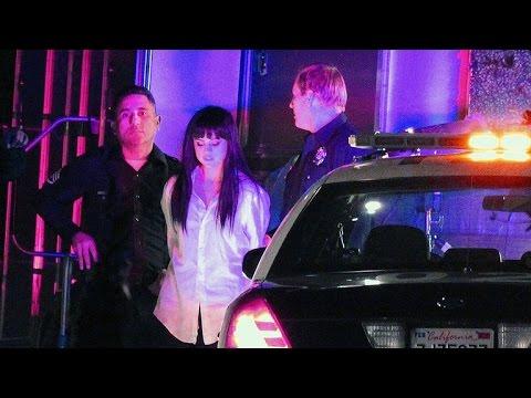 Selena Gomez, detenida por la policía