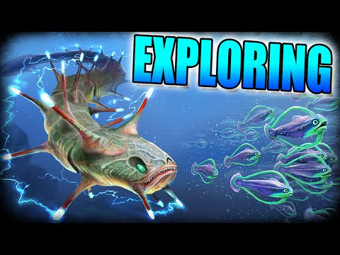 Subnautica: Exploring The World! Shipwrecks, Shockers and Base Upgrades!