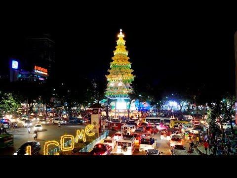 Philippines LIVE - Christmas Eve Cebu City Night Walk