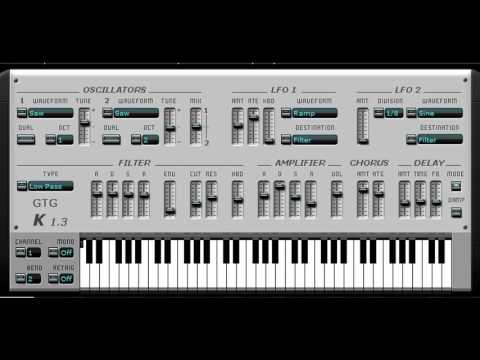 Free Roland Jupiter-8 Synthesizer VST Emulation - YouTube