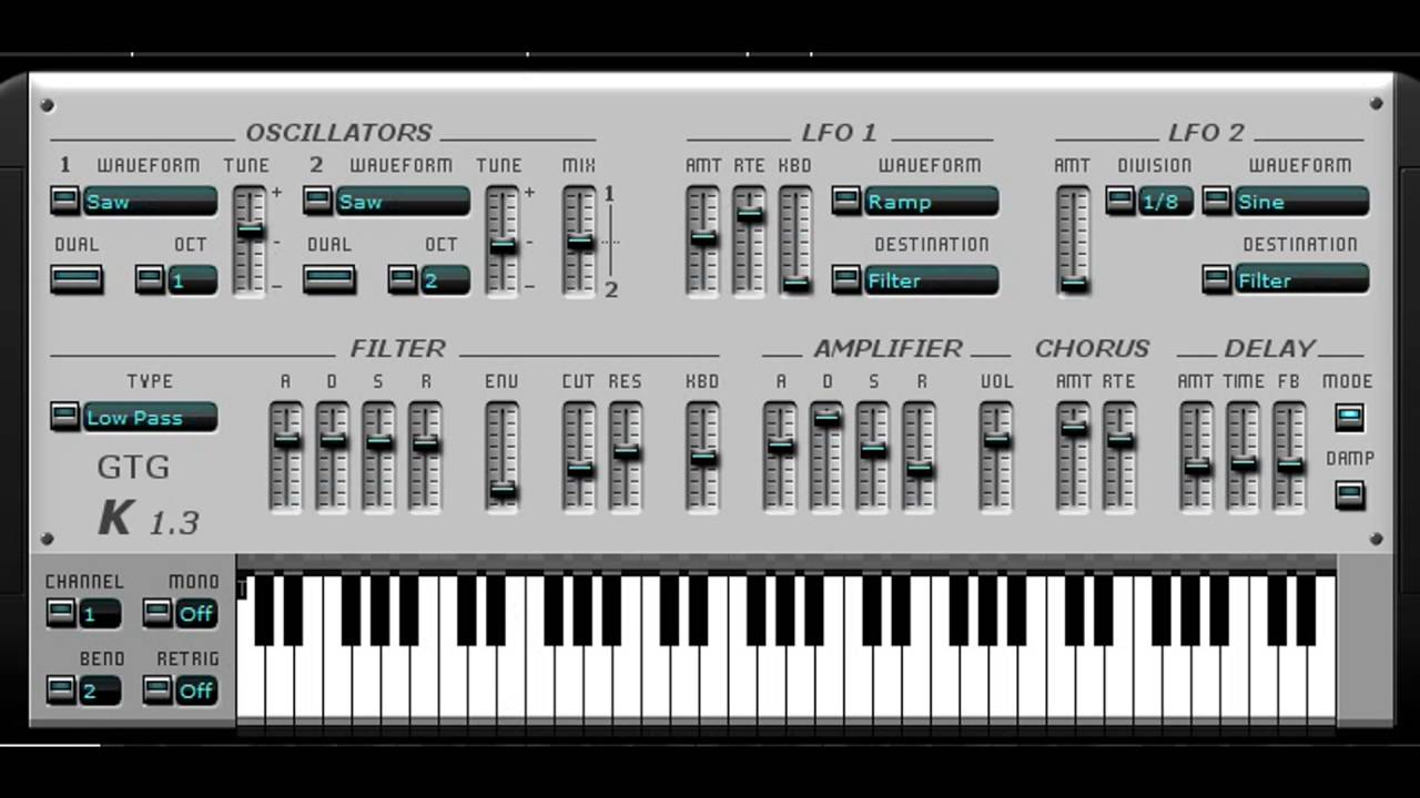 Free Roland Jupiter-8 Synthesizer VST Emulation