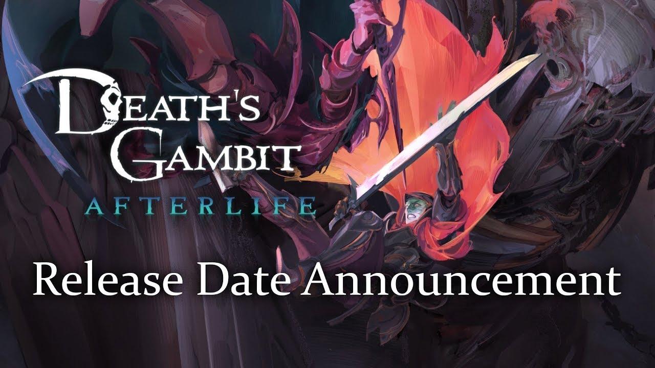 Death's Gambit: Afterlife – Release Date Trailer – Gematsu