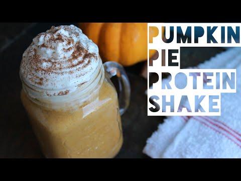 Healthy Smoothie Recipe   How To Make A Pumpkin Pie Spice Protein Shake