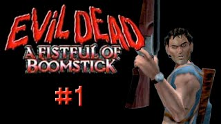 Crafty Plays PS2 - Evil Dead: A Fistful Of Boomstick - Part 1 - Spellbook