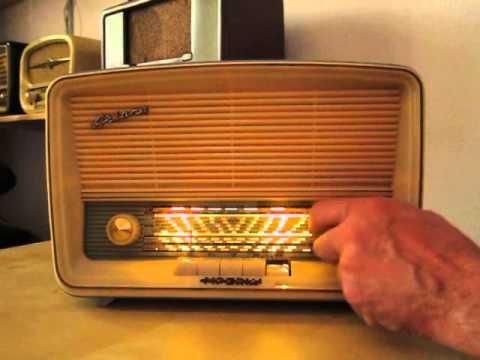 IMPERIAL ARIANE Röhrenradio Tuberadio