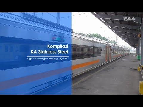 Kereta Api Stainless Steel Terbaru Made In Indonesia [Kompilasi]