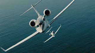 Visionary Efficiency: Gulfstream G500 and G600 Aerial Formation