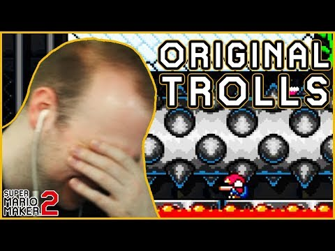 Simple Trolls are the BEST Trolls [Super Mario Maker 2]