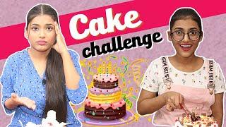 Cake Challenge Ft. Samreen Ali | Mahjabeen Ali