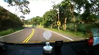 Overshoot a Curve - Motorbike And Car Crash
