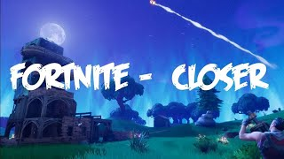 Fortnite Short trickshoting montage closer-The Chainsmokers/w Code 0 cecil