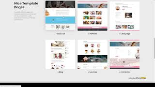 Ozaki - Cake Bakery Food WordPress Theme sweet cupcake