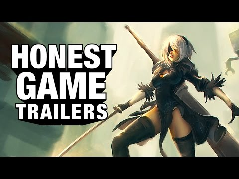 NIER: AUTOMATA (Honest Game Trailers)