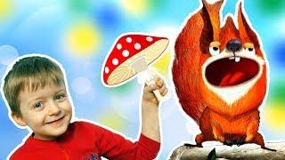 Лесные Животные для Детей  Развивающие Игры для Детей Lion Boy