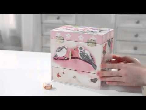 Sweet Fairy Wrens Musical Treasure Box, SKU#865468 - Magic Cabin