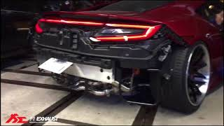HONDA ACURA NSX MK2 x Fi Exhaust - Sound Check l The new Fi Pure Sound !