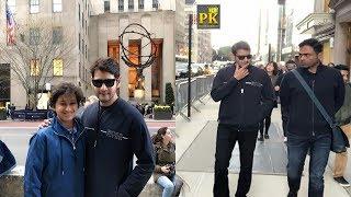 Mahesh Babu's Maharishi Team In New York | Mahesh New Look Photos | Mahesh Family | PK TV