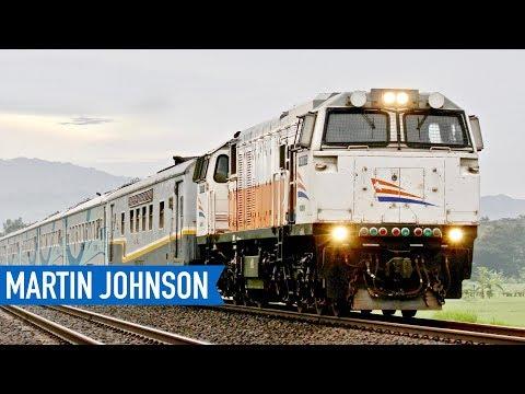 Economy Train from Jakarta to Bandung - ARGO PARAHYANGAN