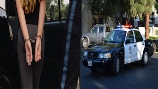 MY GIRLFRIEND GOT ARRESTED! *CAUGHT ON CAMERA*