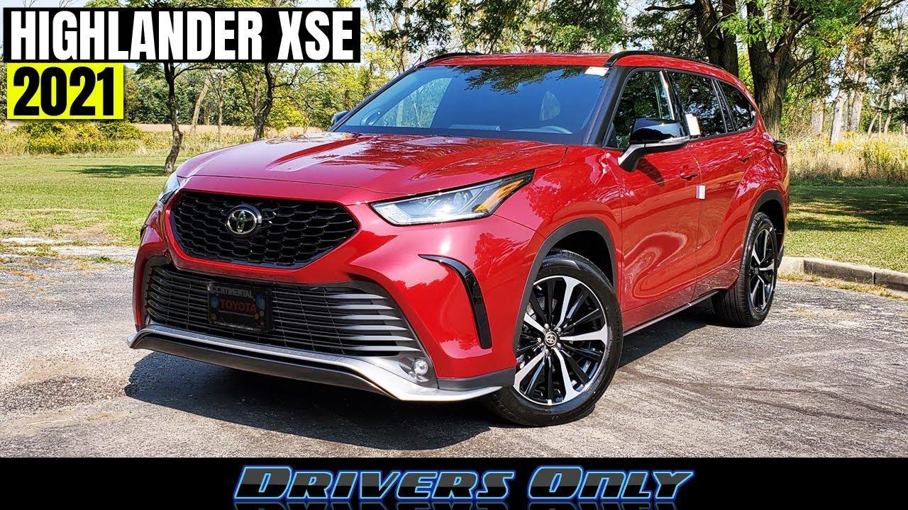 2021 Toyota Highlander Xse Amazing Looks And Retuned Suspension Youtube