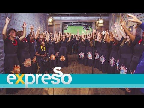 "Stellenbosch University Choir perform ""Traditional Gospel Medley"""