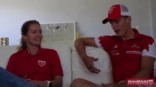 Bahrain Endurance 13 - Brent McMahon interview with Sara Gross