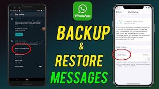 WhatsApp Backup Method   WhatsApp ka Backup kis Tarh Li   WhatsApp Backup ka Tarika   Tech Asif Khan screenshot 3